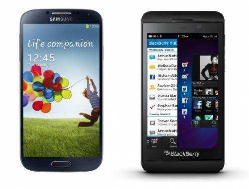 samsung-galaxy-s4-vs-blackberry-z10