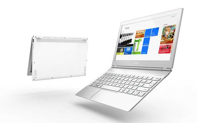 Acer uncovers three latest S7 ultrabooks