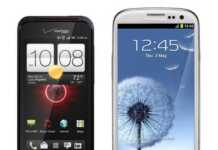 comparing HTC and Samsung smartphones