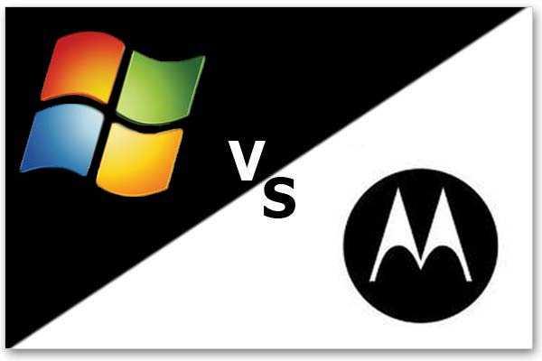 Microsoft vs. Google's Motorola Mobility