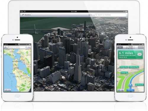 Apple Maps App