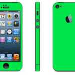 iphone 5 green glow