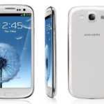 Samsung S3 pebble blue