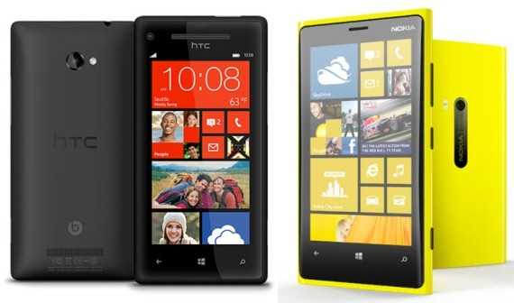 nokia ou htc windows phone