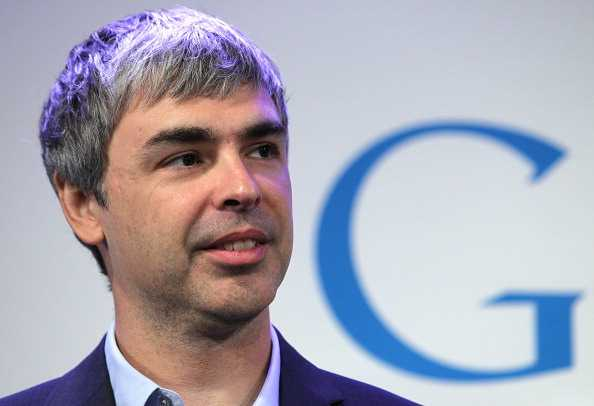 Larry Page on Facebook, Apple