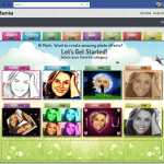 PhotoMania - Application page