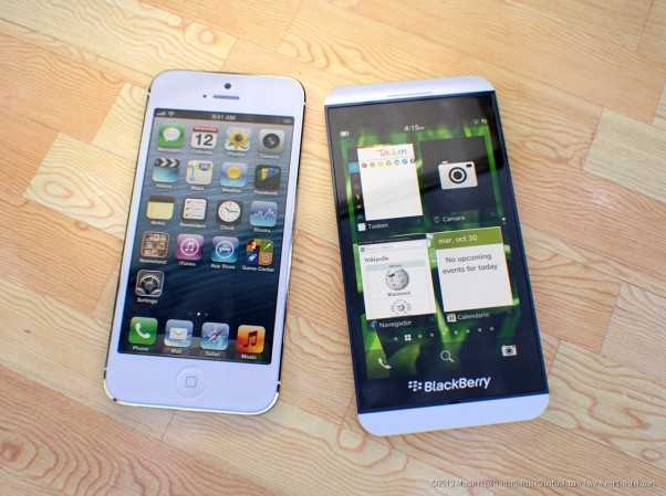 Samsung Galaxy and LG Optimus Beat BlackBerry