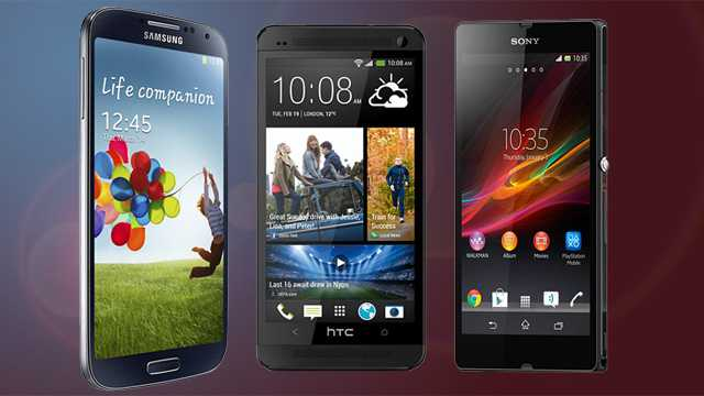 HTC One Vs LG Optimus G Pro Vs Nokia Lumia 920