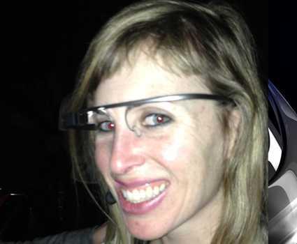 google glass Sarah Slocum attacked