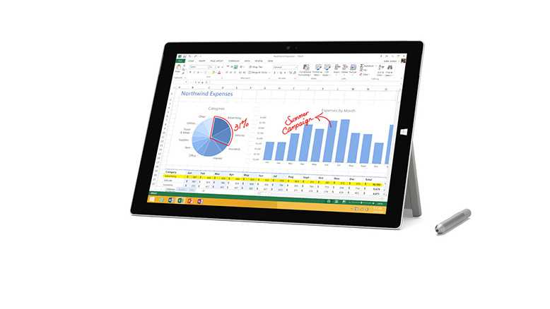 microsoft surface pro 3 features price