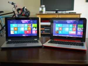 HP pavilion x360 vs Lenovo yoga 2- which one to get?
