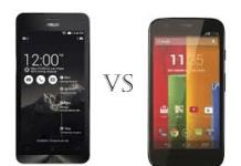 Moto E vs ASUS ZenFone C- Compare before you buy!