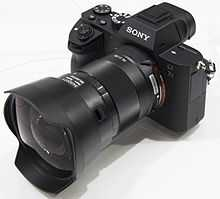 Sony Alpha 7R II with mirror