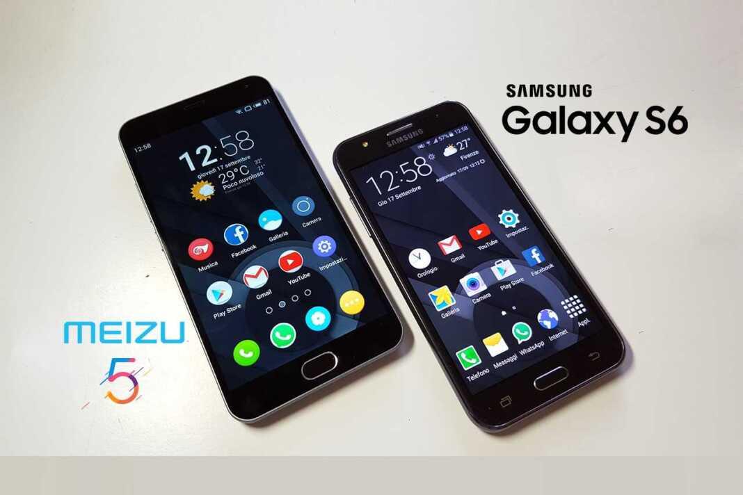 Meizu Pro 5 Vs Samsung Galaxy S6