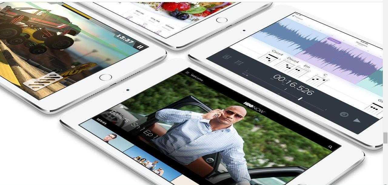 iPad Mini 4 vs iPad Air 2