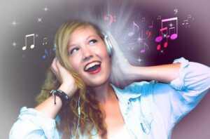 Stylish headphones for women