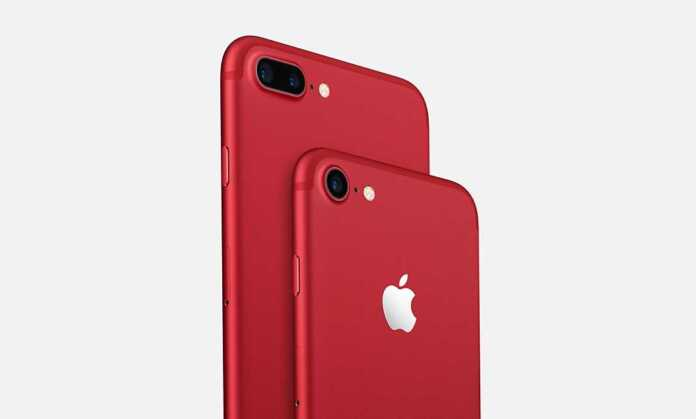iphone7 red cause