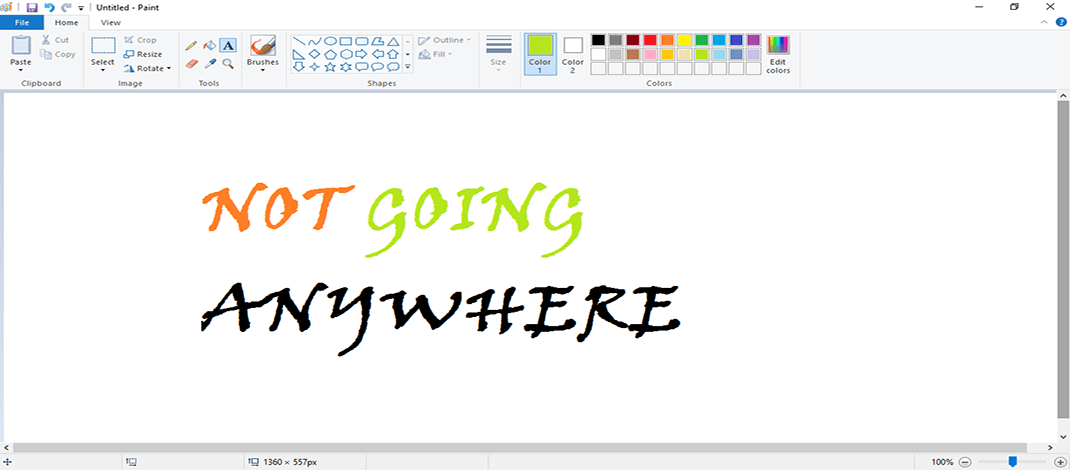 Microsoft Paint Isn't Going Anywhere
