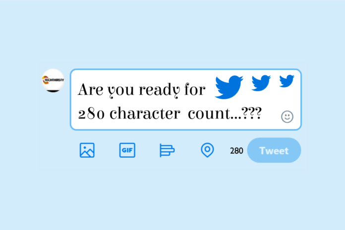 Twitter Character count, twitter