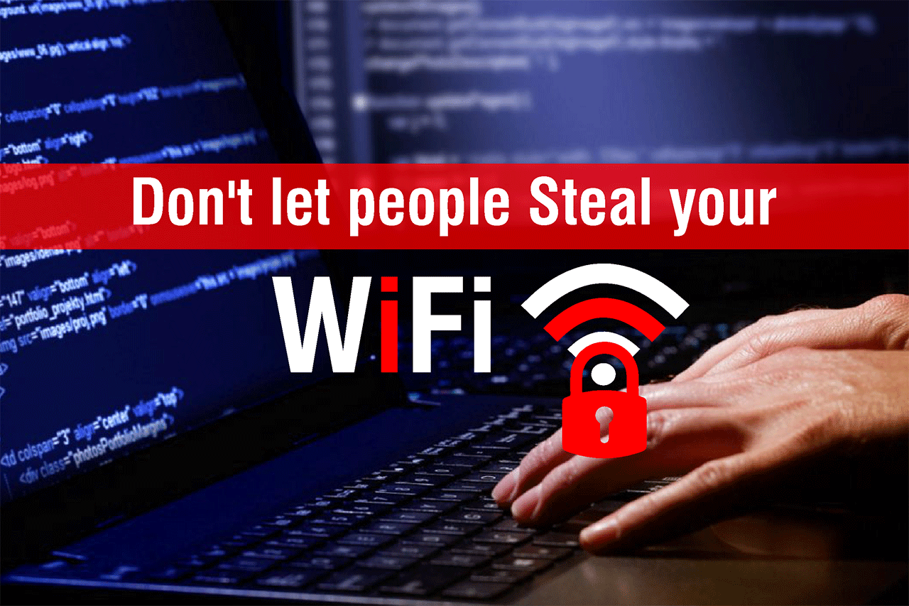 How to save Wifi being hacked