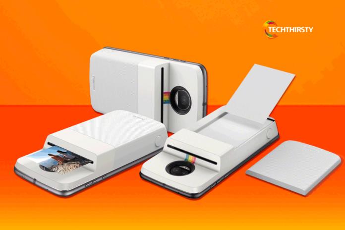 Moto new phone printer