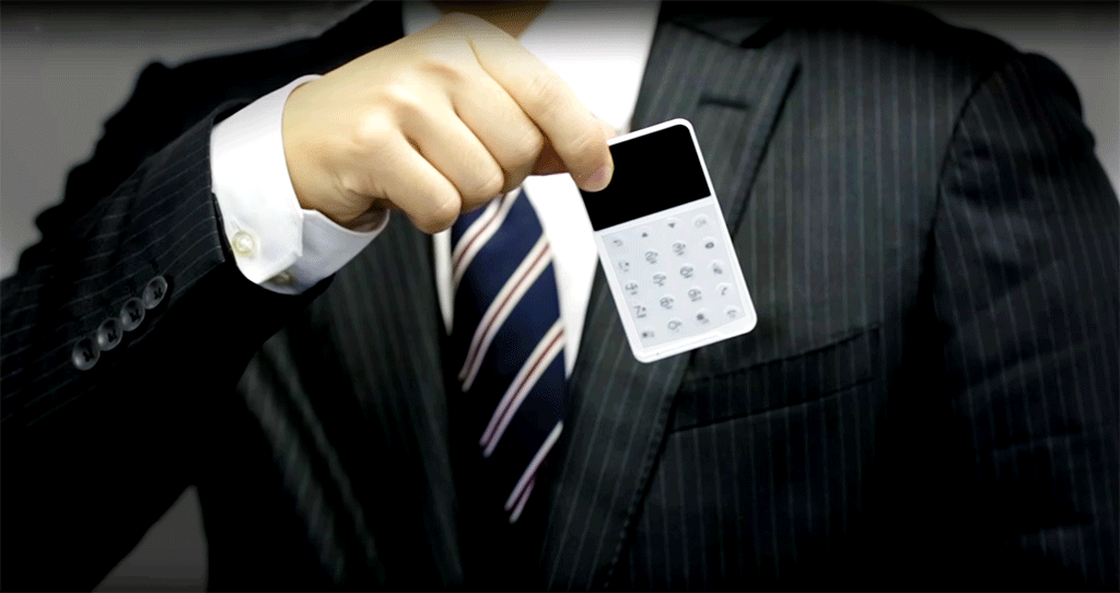 Credit Card Size phone