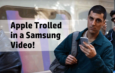 Samsung Trolls iPhone X in Samsung Galaxy Note 8 Commercial