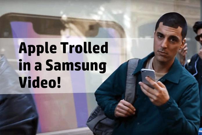 Samsung trolling Apple