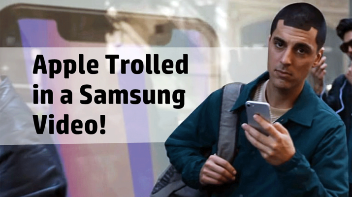 Samsung trolling Apple