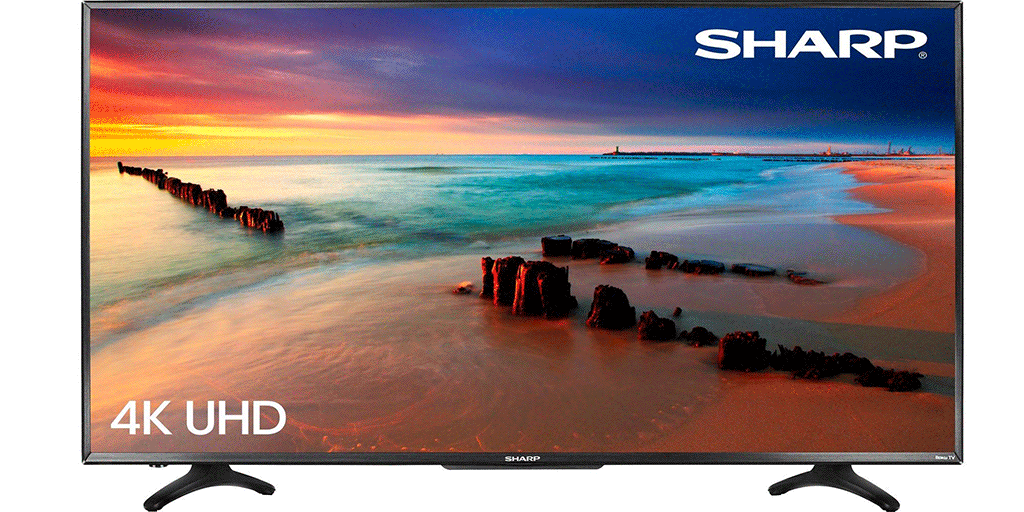 Sharp 50-inch 4K Ultra HD TV