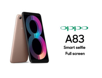 Oppo A83 Set To Land in India This Saturday, Priced At Rs. 13,990