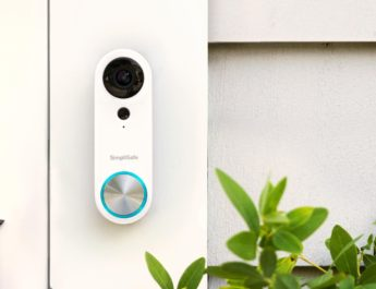 Secure Your Front Door with the Simplisafe Video Doorbell Wide-Angle Camera