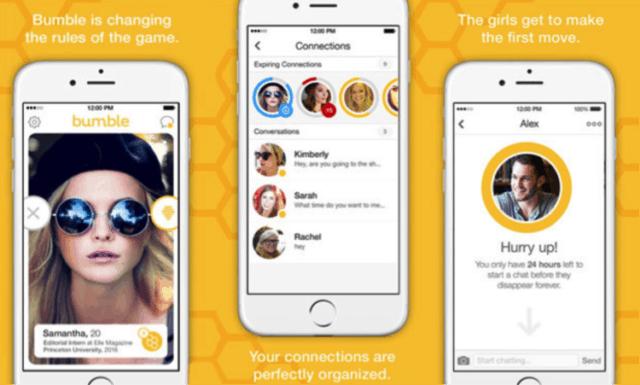 bumble dating apps screenshots
