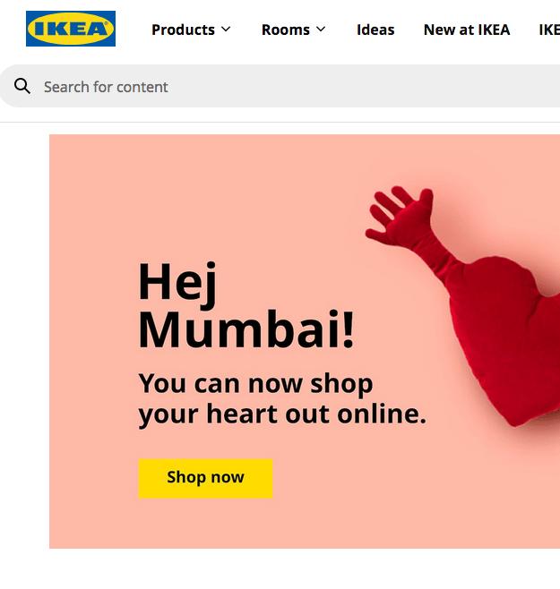 shop Ikea online in Mumbai