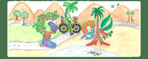 Doodle for Google 2019 - India Winner