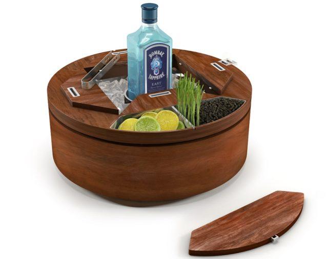 Bombay Sapphire East Gin Wheel