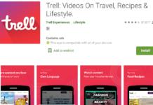 Trell PlayStore Screenshot