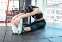 stretches from home for women