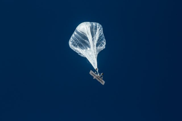Google Loon Launches First balloon in Kenya