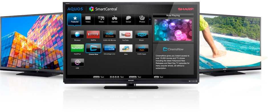 Sharp Smart TV Apps