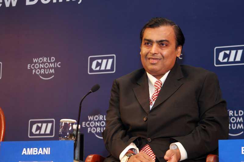 Reliance Chairman, Mukesh Ambani