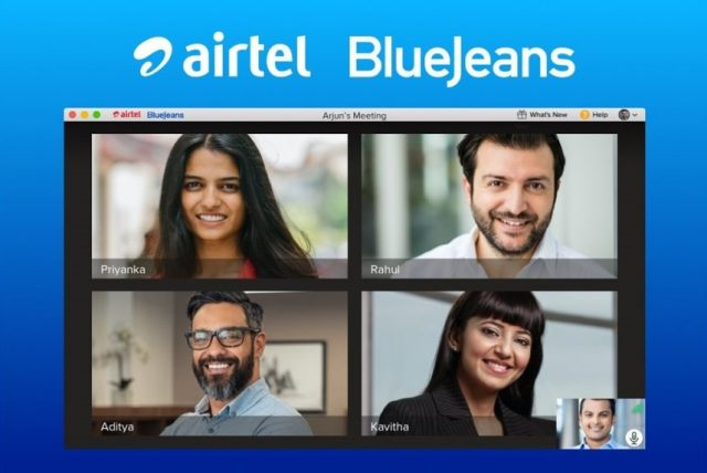 Airtel BlueJeans offer 3-Month Free Trial For Businesses