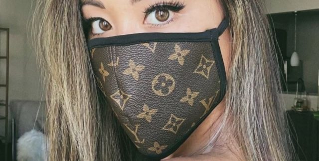fashionable mask gucci louis vuitton best face mask for COVID-19