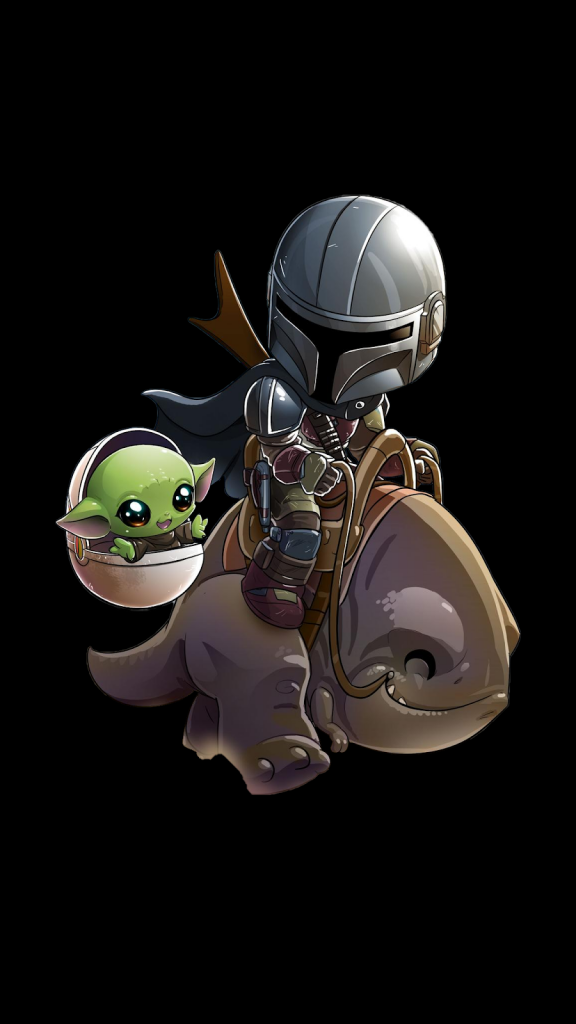 Baby Yoda Wallpaper for iPhone 11 Max Pro Image 6
