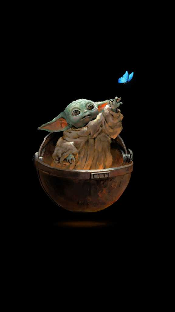 Baby Yoda Wallpaper for iPhone 11 Max Pro Image 8
