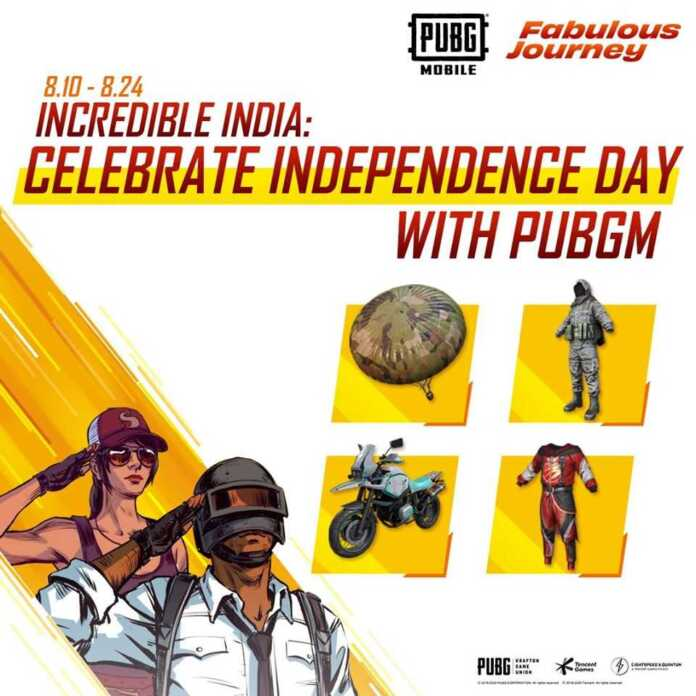 PUBG Independence Day Event