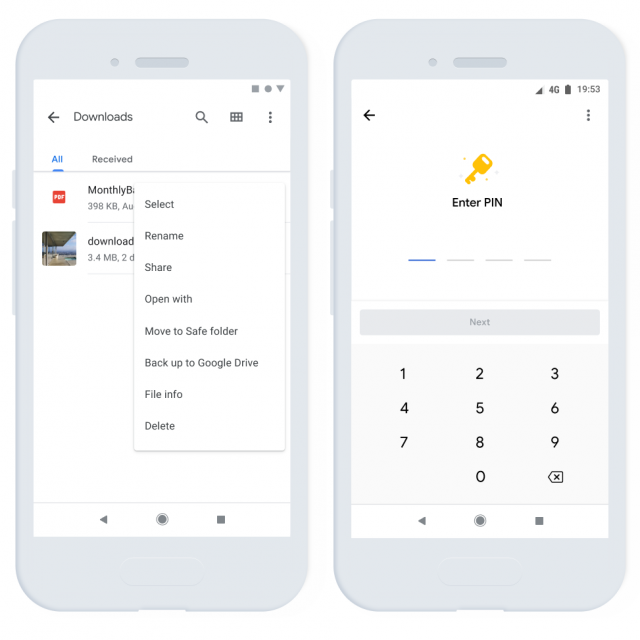 Google Launches New Pin-Encrypted