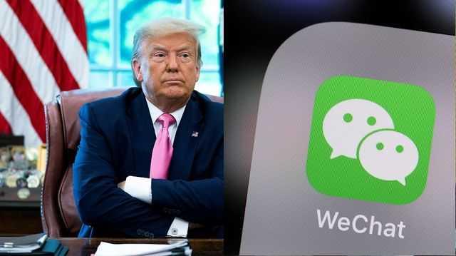 Trump Banned WeChat