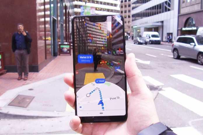 google maps latest update