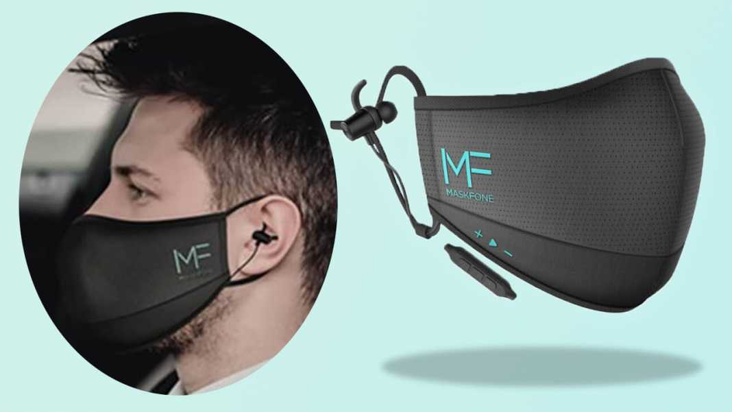 N95 Face Mask With Bluetooth Earphones 1